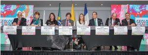 Lanzamiento Internacional del Mapa Geológico de Suramérica a escala 1:5 000 000