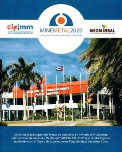 (Español) V Congreso Internacional de Minería y Metalurgia, MINEMETAL 2020
